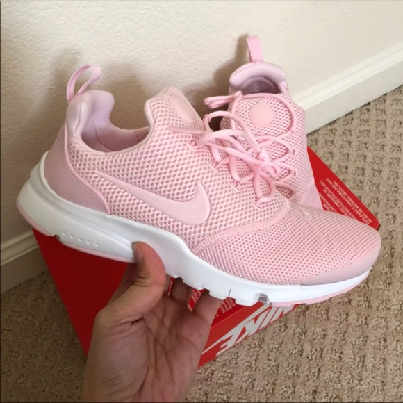 a06a2e1f88a 🌧New🌧 NIKE prism pink Presto Fly GS~various sz. M 5aa35aa85512fd7755cae621